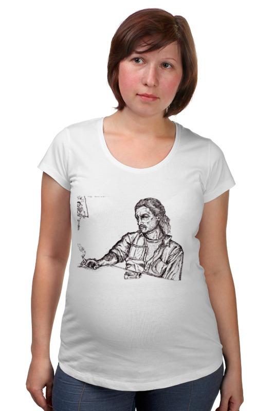 Футболка для беременных Printio True detective футболка для беременных printio elements of harmony