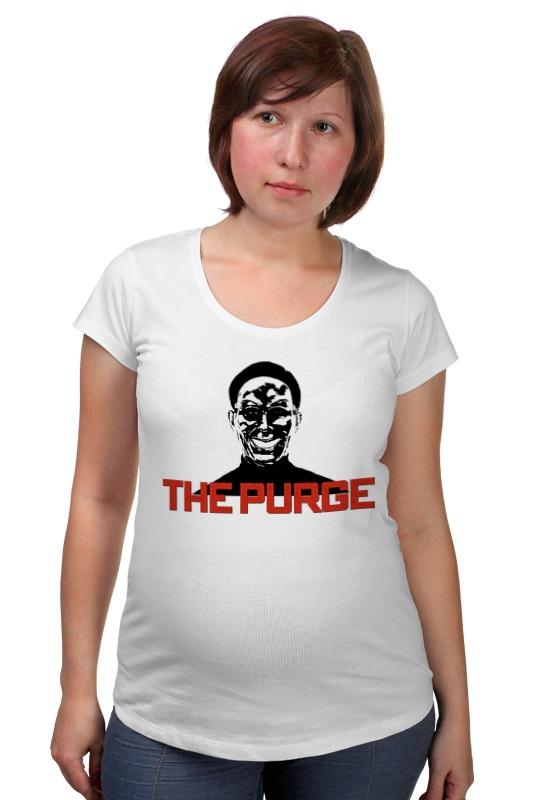 Футболка для беременных Printio The purge футболка для беременных printio bring me the horizon