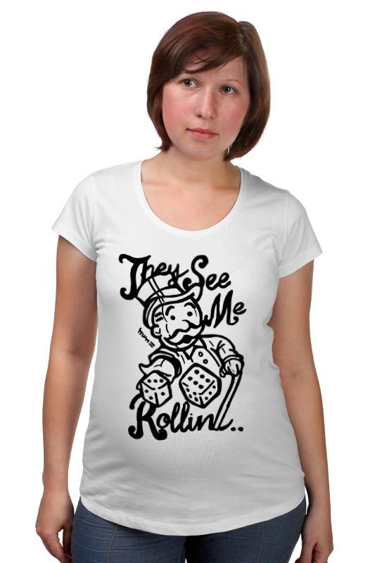 Футболка для беременных Printio Fallout (фэллаут) футболка классическая printio fallout фэллаут