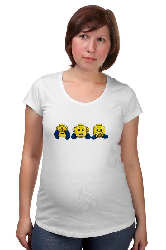 Футболка для беременных Printio Лего (lego) футболка для беременных printio elements of harmony
