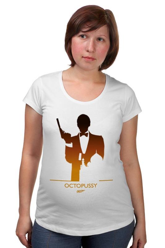 Футболка для беременных Printio 007: осьминожка футболка для беременных printio property of a lady 007