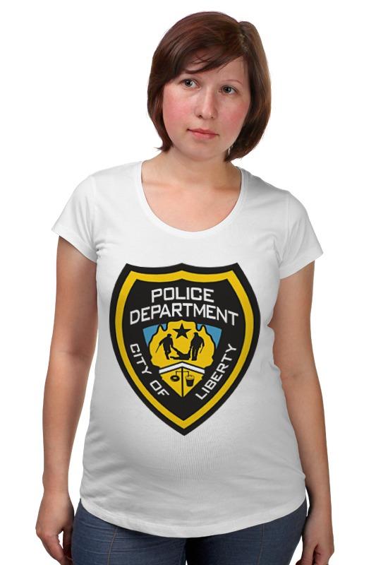 Футболка для беременных Printio Police department футболка для беременных printio dorothy police search