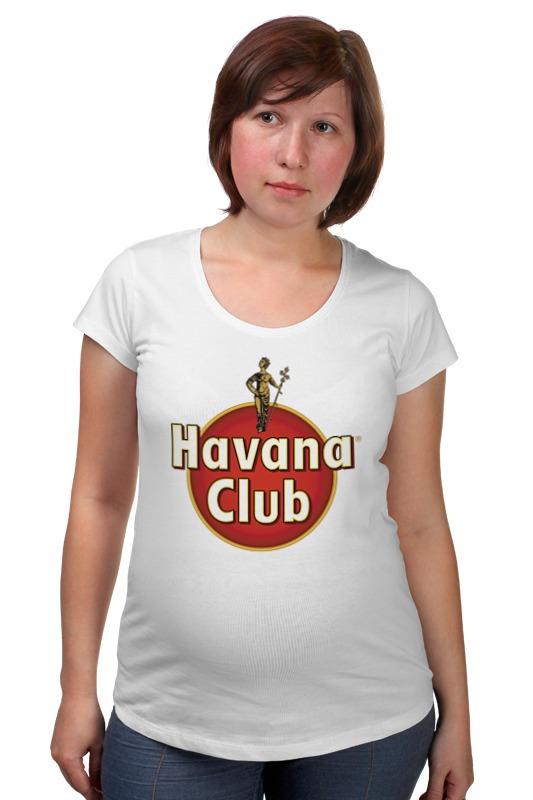 Футболка для беременных Printio Havana club havana club anejo reserva