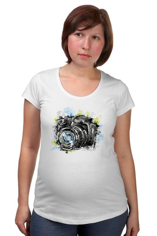 Футболка для беременных Printio Фотоаппарат