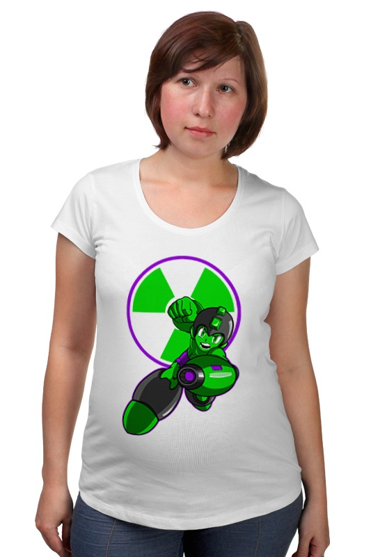 Футболка для беременных Printio Халк мегамен футболка для беременных printio elements of harmony