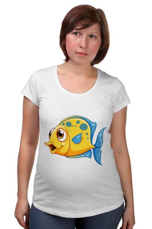 Футболка для беременных Printio Рыбка 2 футболка для беременных printio рыбка