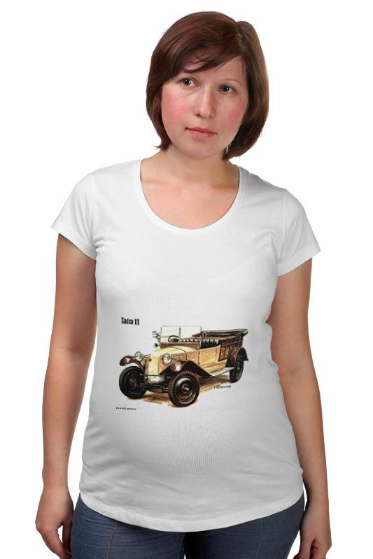 Футболка для беременных Printio Ретроавтомобили 6 футболка для беременных printio любить всех