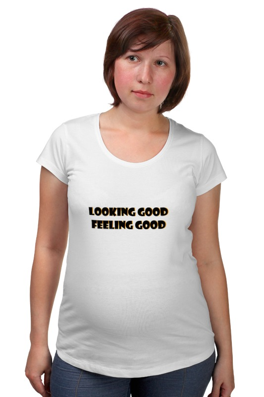Футболка для беременных Printio Хорошо выгляжу футболка для беременных printio россия украина