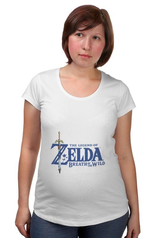 Футболка для беременных Printio The legend of zelda breath of the wild футболка для беременных printio season of the witch