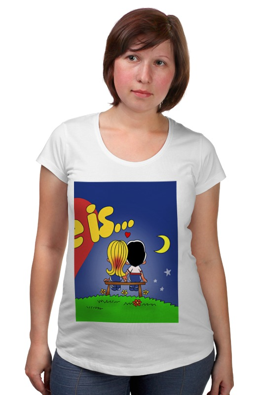 Футболка для беременных Printio Love is... футболка для беременных there is only a good mother 00031 2015