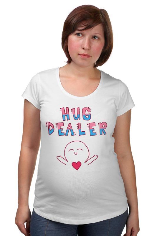 Футболка для беременных Printio Hug dealer обнимашки цены онлайн