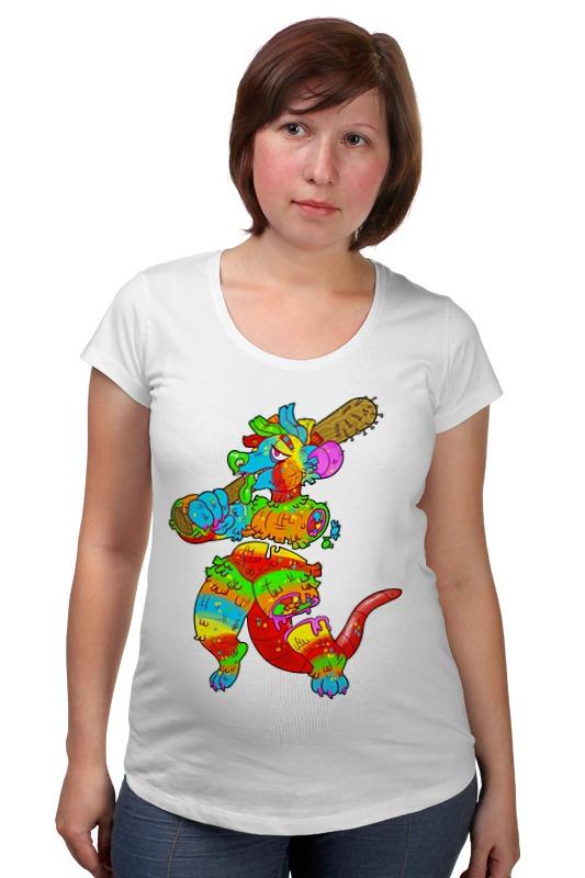 Футболка для беременных Printio Dinosaur art футболка для беременных printio psy art arsb