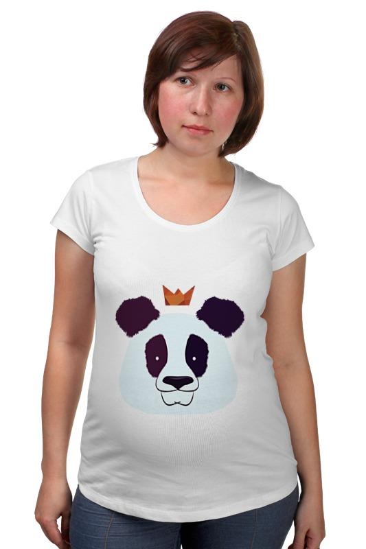 Футболка для беременных Printio Король панда позиционеры для сна candide позиционер с подголовником воздухопроницаемая панда air