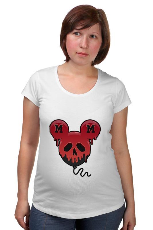 Футболка для беременных Printio Skull - 27 футболка для беременных printio россия украина
