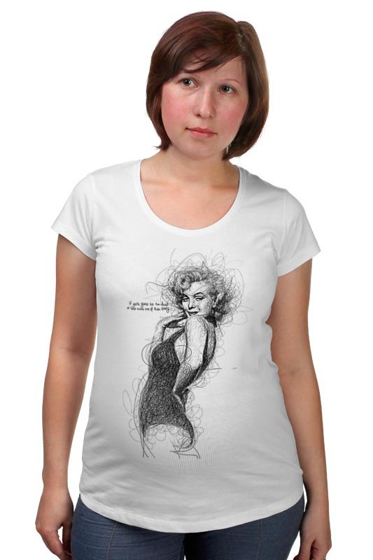 Футболка для беременных Printio Marilyn monroe футболка для беременных printio html5