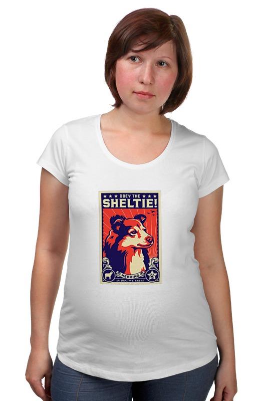 Футболка для беременных Printio Собака: shetie чартер для всех