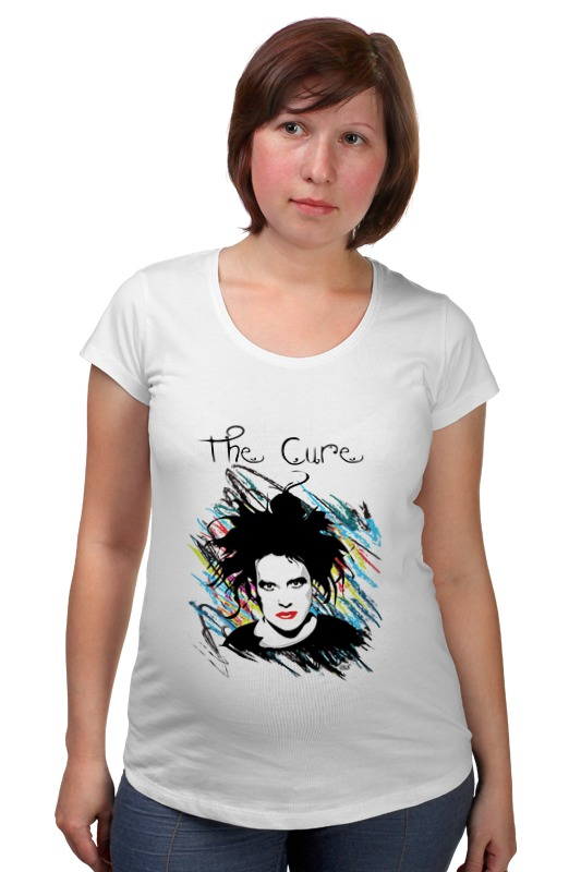 Футболка для беременных Printio The cure футболка для беременных printio the cure wish