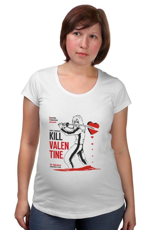 Футболка для беременных Printio День святого валентина футболка для беременных printio убить билла