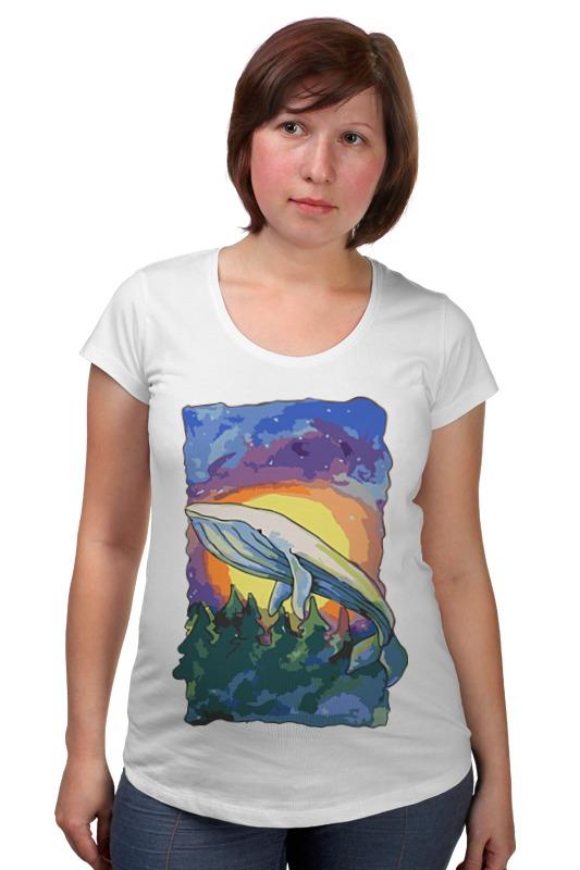Футболка для беременных Printio Волшебный кит футболка для беременных printio кит ричардс