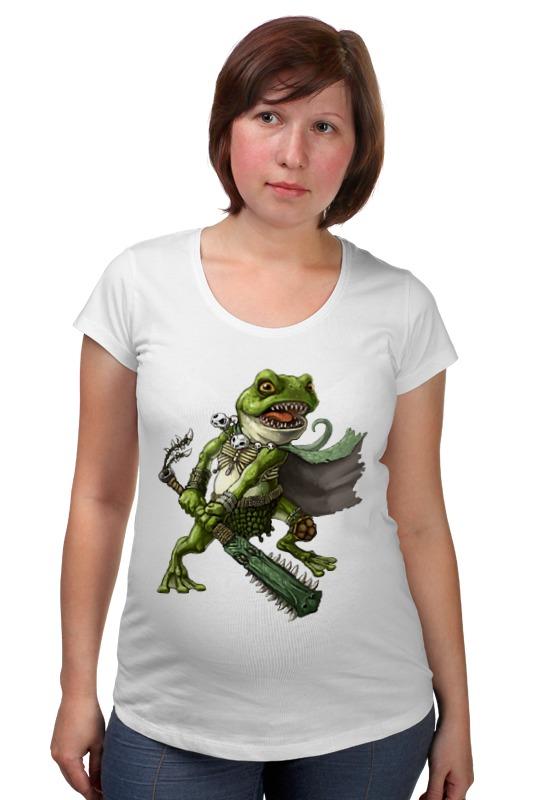 Футболка для беременных Printio Боевая рептилия футболка для беременных printio elements of harmony