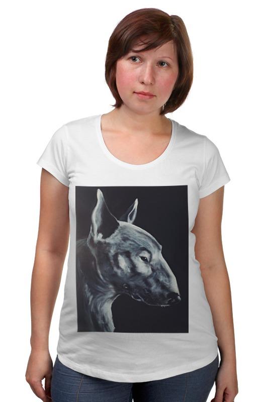 Футболка для беременных Printio Bull terrier футболка для беременных printio бешенный бык raging bull