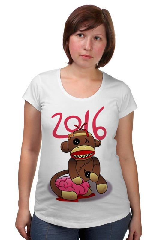 Футболка для беременных Printio Год обезьяны футболка для беременных printio россия украина