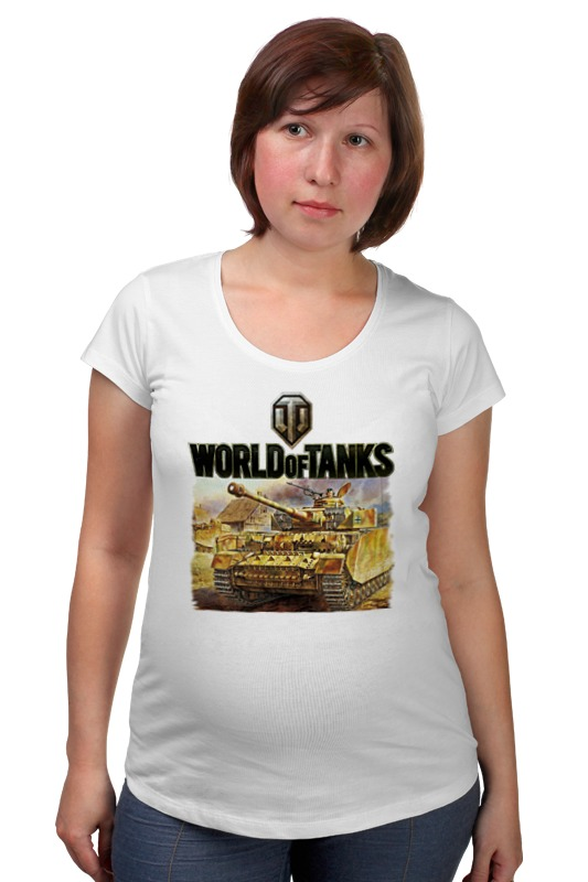 Футболка для беременных Printio World of tanks футболка для беременных printio world of tanks generals