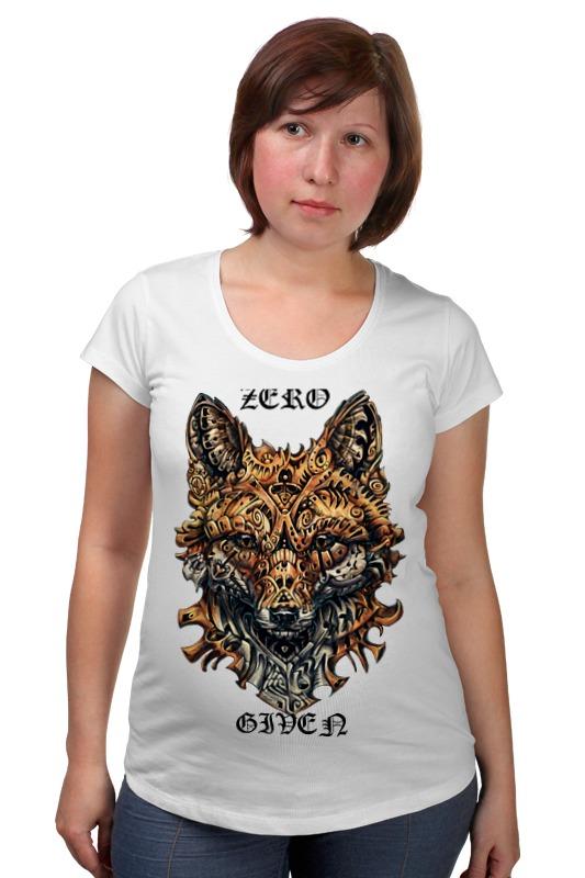 Футболка для беременных Printio Zero fox given футболка для беременных printio elements of harmony