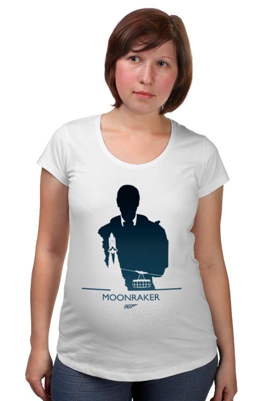Футболка для беременных Printio 007: лунный гонщик футболка для беременных printio property of a lady 007