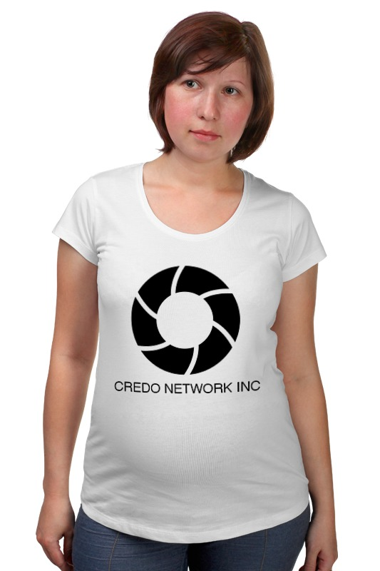 Футболка для беременных Printio Credo network inc
