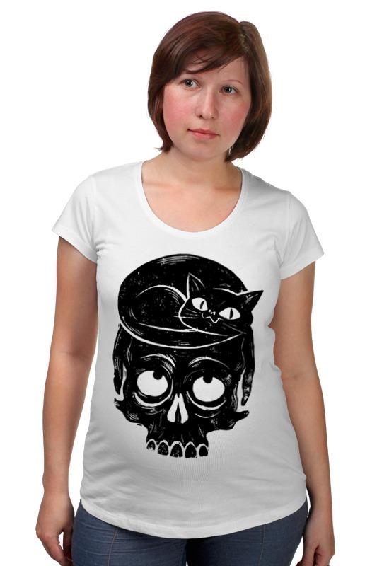 Футболка для беременных Printio Skull art футболка для беременных printio elements of harmony
