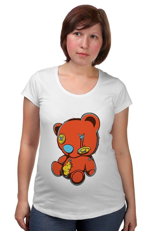 Футболка для беременных Printio Dead teddy bear футболка стрэйч printio dead teddy bear
