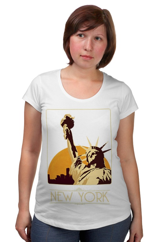 Футболка для беременных Printio New york футболка стрэйч printio new york