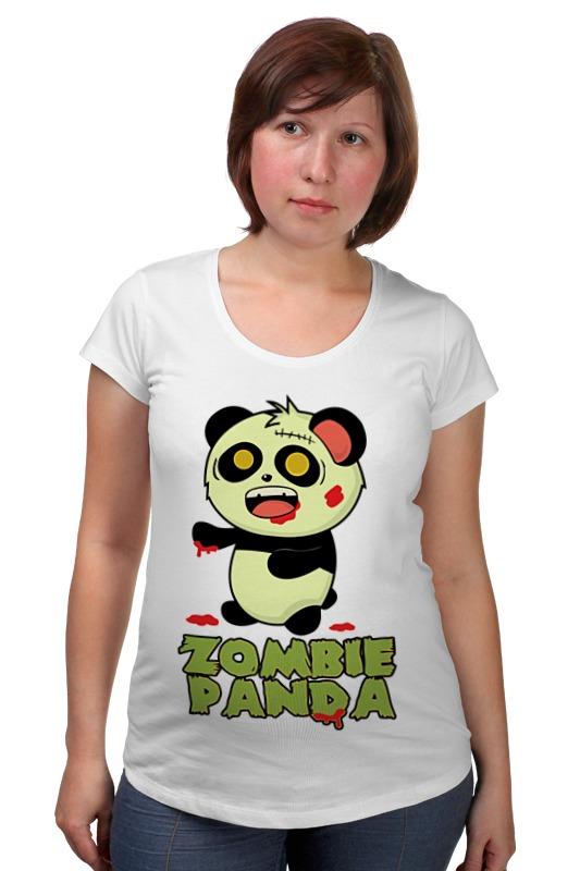Футболка для беременных Printio Зомби панда товары для беременных