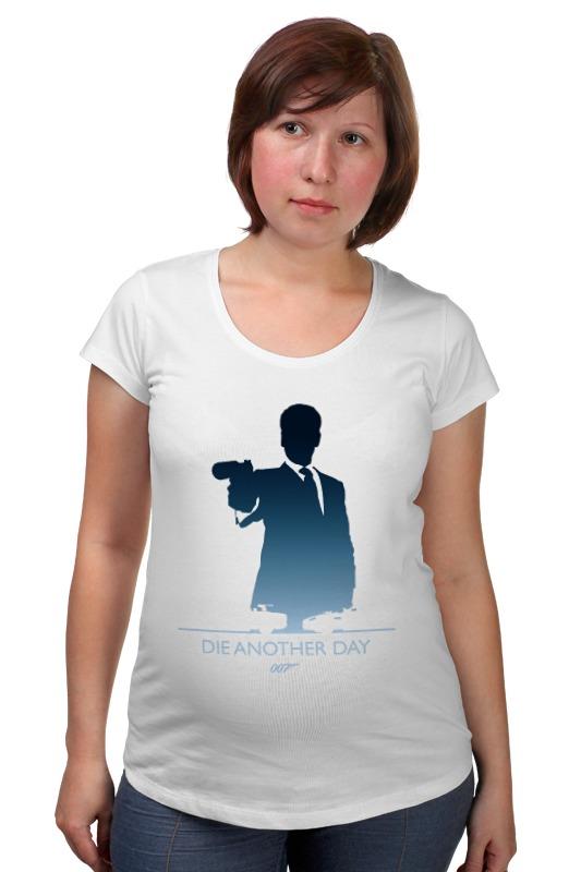 Футболка для беременных Printio 007: умри, но не сейчас футболка для беременных printio property of a lady 007