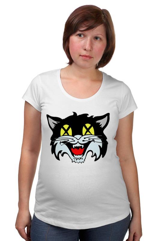 Футболка для беременных Printio Кот (cat) лонгслив printio космо кот space cat
