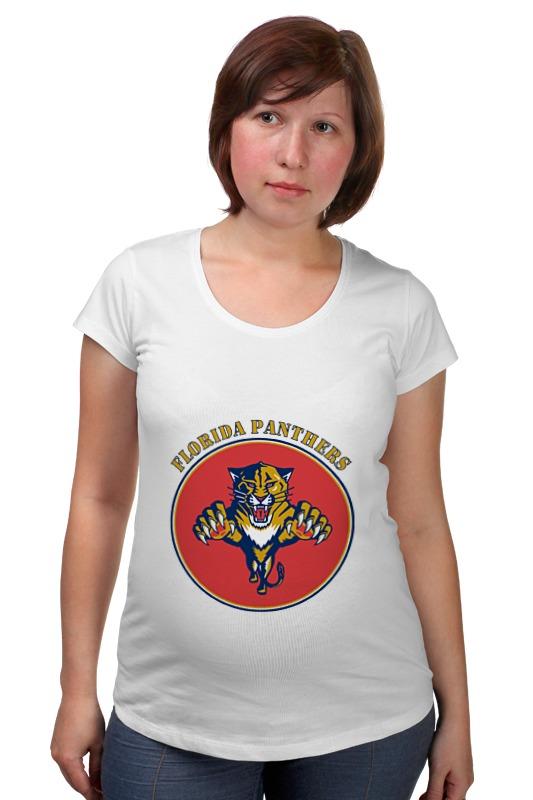 Футболка для беременных Printio Флорида пантерс jonathan p gilbert florida флорида зеленый гид