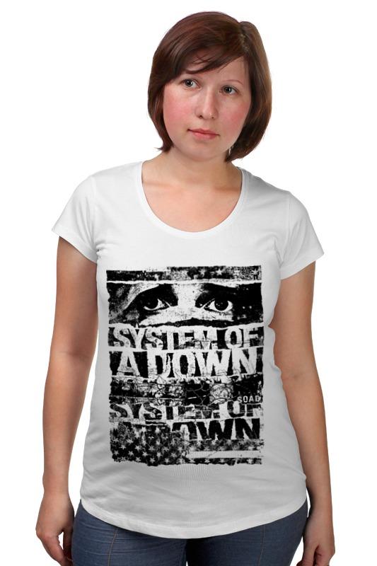 Футболка для беременных Printio System of a down футболка для беременных printio guru of trance
