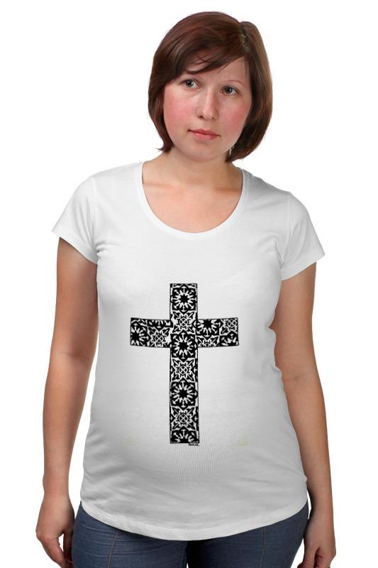 Футболка для беременных Printio Крест лонгслив printio армянский крест