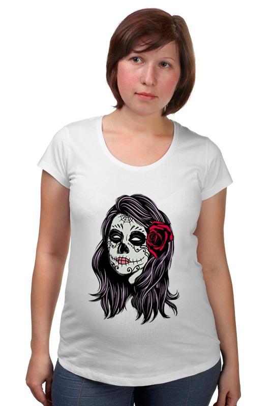 Футболка для беременных Printio Skull girls футболка для беременных printio россия украина