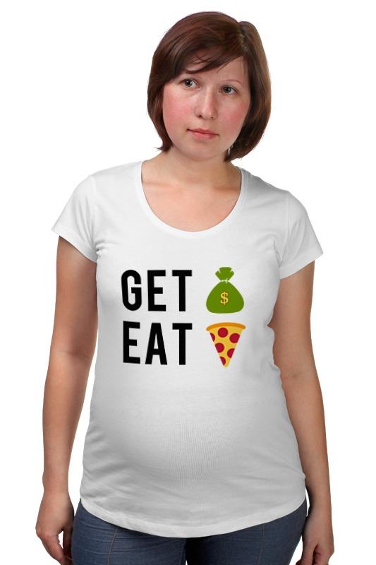 Футболка для беременных Printio Деньги пицца футболка для беременных printio россия украина