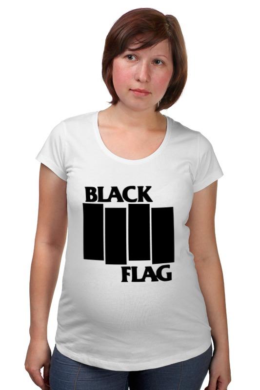 Футболка для беременных Printio Black flag сумка printio black flag