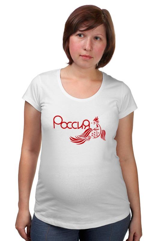 Футболка для беременных Printio Россия(хохлома) футболка для беременных printio крым россия