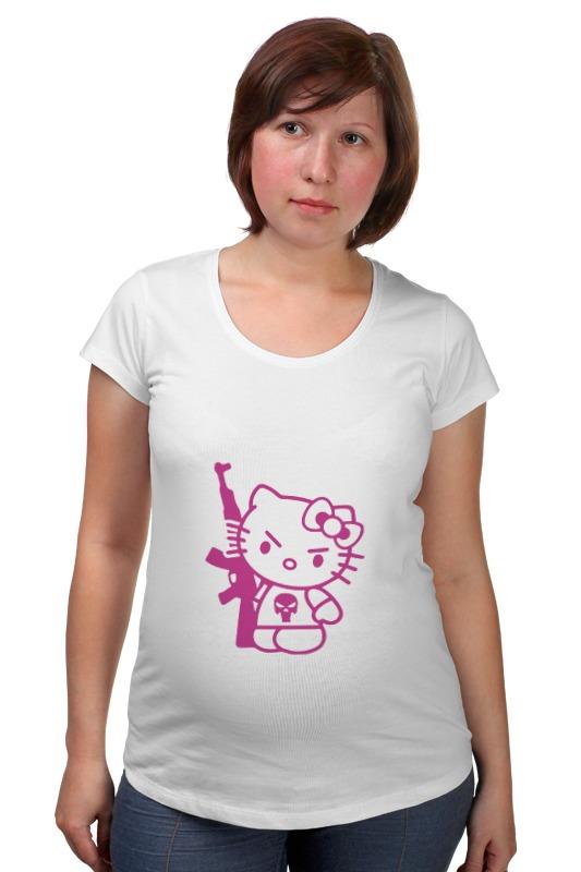 Футболка для беременных Printio Hello kitty ak-47 футболка для беременных printio kitty