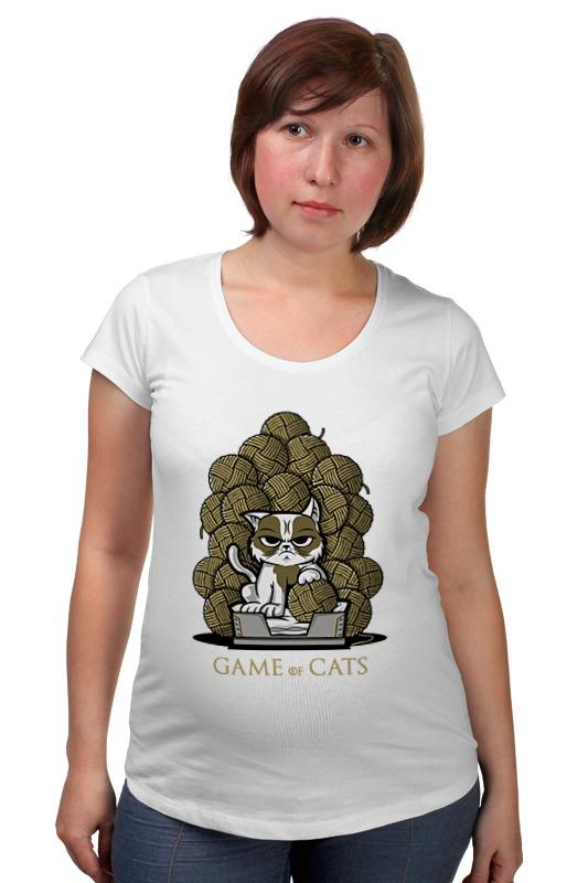 Футболка для беременных Printio Game of cats футболка для беременных printio game of toys