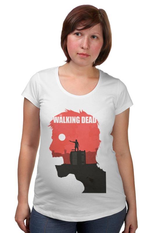 Футболка для беременных Printio The walking dead футболка для беременных printio day of the dead