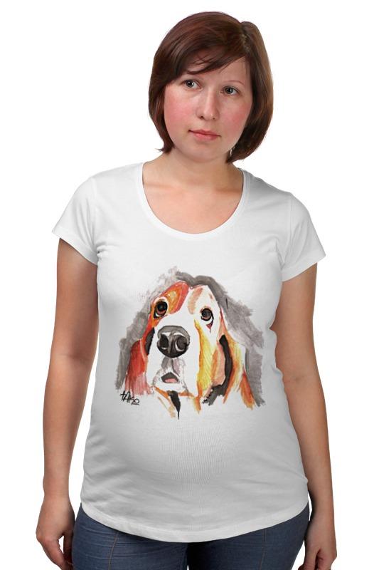 Футболка для беременных Printio С собачкой футболка для беременных printio россия украина