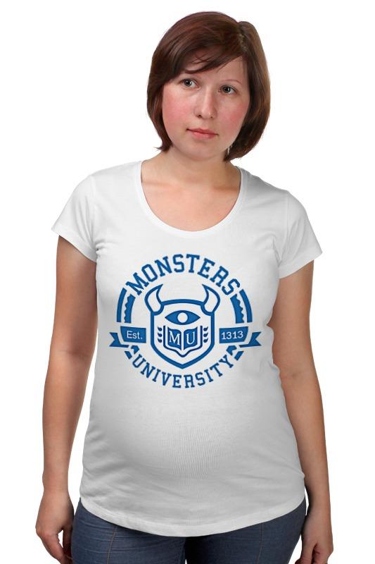 Футболка для беременных Printio Monsters university футболка для беременных printio россия украина