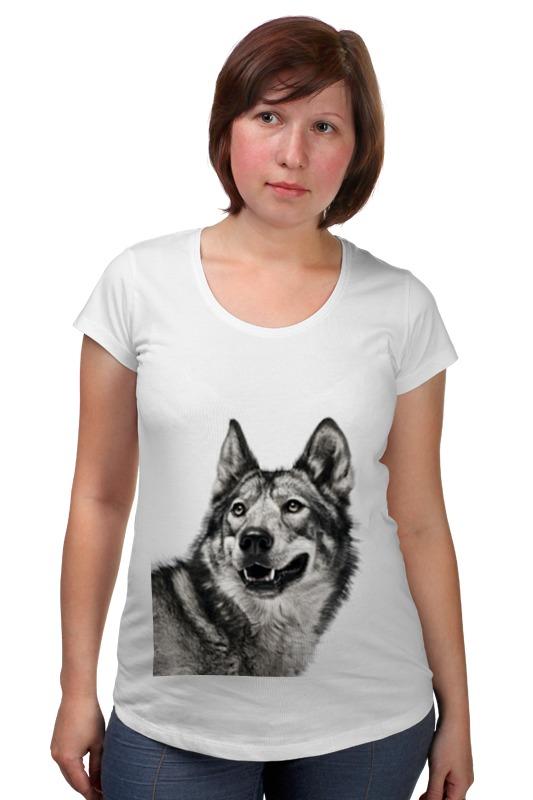 Футболка для беременных Printio Добродушный волк футболка для беременных printio жарю лучше всех