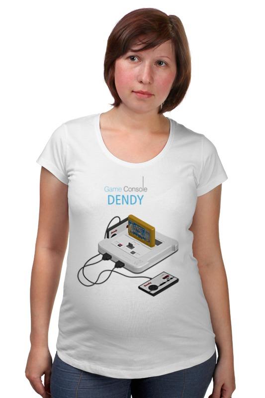 Футболка для беременных Printio Игровая приставка денди лонгслив printio игровая приставка денди